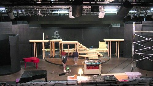 New set for theater show