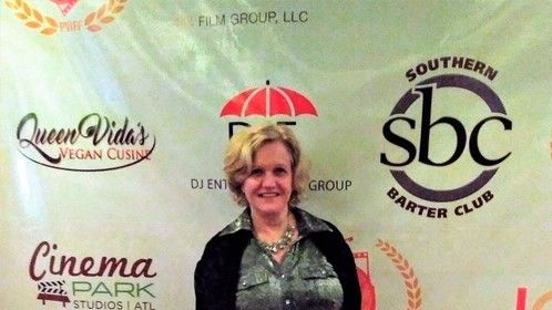 On the Red CArpet- Finalist Peachtree Village International Film Festival - ATL