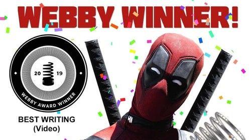 Webby Winner best writing 2019