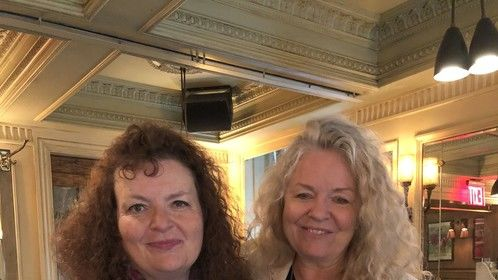 Susan and 'Mouthpiece' director Patricia Rozema