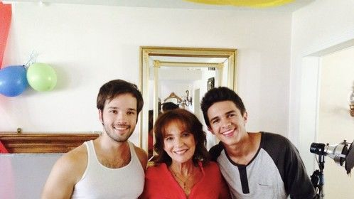 With Nathan Kress and Brent Rivera in ALEXANDER IRL