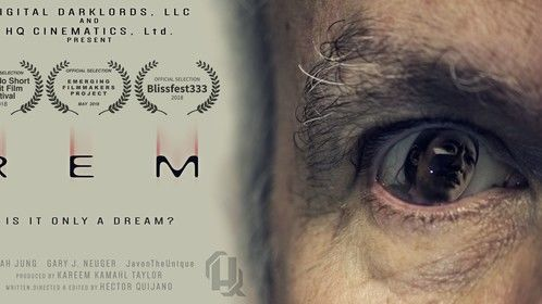 REM - Written & directed by Hector Quijano for HQ Cinematics, Ltd.  Produced by Kareem Kamahl Taylor for Digital Darklords, LLC.