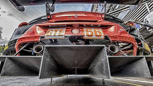 Rear-end, Ferrari 488 - Spa Francorchamps