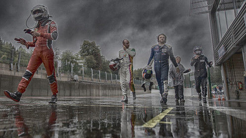 Race over - Spa Francorchamps