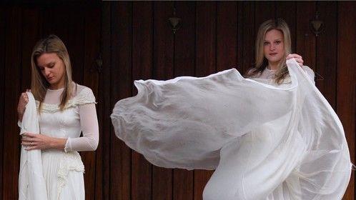 Haley antique wedding gown