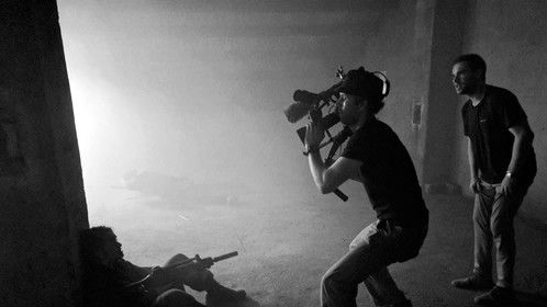Directing an action scene!