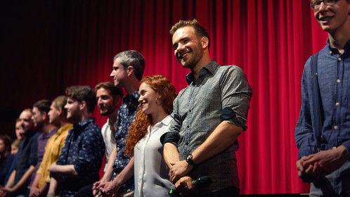 """Q&A at our privat premiere of """"film d´auteur""""!"""