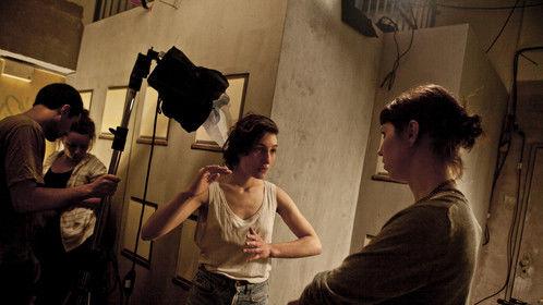 Preparing a scene with DP (Switzerland)