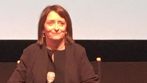 I was so happy I got to meet Rachel Dratch at the 2016 NYTVF.  She is one of my favorite SNL alums.
