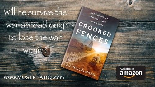 Crooked Fences: A Novel by C.J. Heigelmann. Published Jan 2020. Contemporary Literary Fiction.