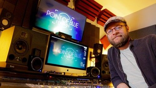 W. Alex Reeves at Point of Blue Studios, Los Angeles