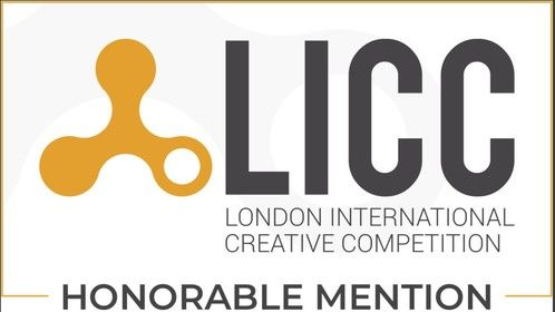 """Honorable Mention in the London International Creative Competition for the treatment of """"LoveBeats"""""""