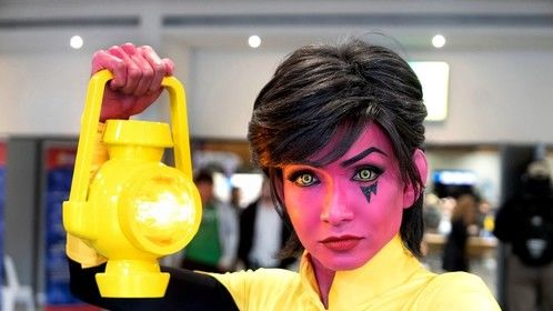 DC Comics' Sinestro's daughter, Soranik