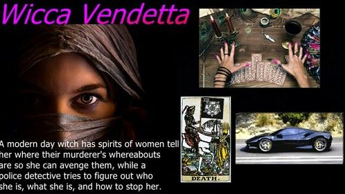 Wicca Vendetta, by John Daly 2020