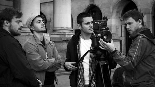 Filming 'P I R A N H A'