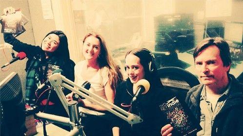 Radio interview promoting Sydney Indie Film Festival with Festival Director Shailla Quadra, Director Anna Hildebrandt and Victoria Ferrara, actor.