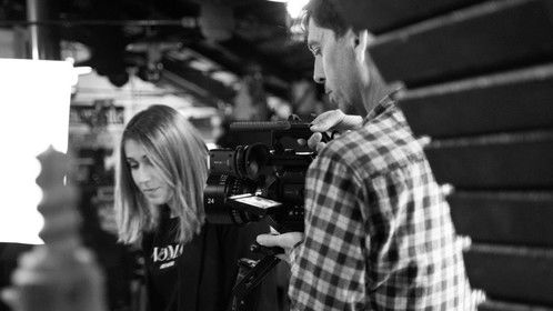 Working as DP in a music video in Malaga, Spain.