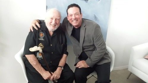Anthony Snow & Tower Records Founder Russ Soloman
