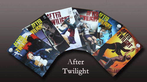 """""""After Twilight"""" - Six issue graphic novel set in a dystopian future Texas.  Co-Writer"""