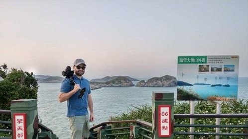 Shooting some travel video in Taiwan.