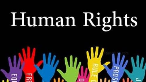 I believe in human rights for all people.