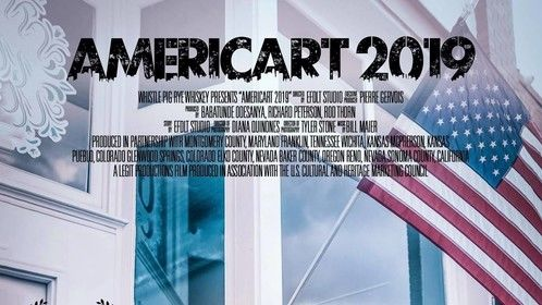Documentary film, Americart 2019 Improbably Blue, my song co-written with film's composer Bill Maier, is placed in this film.