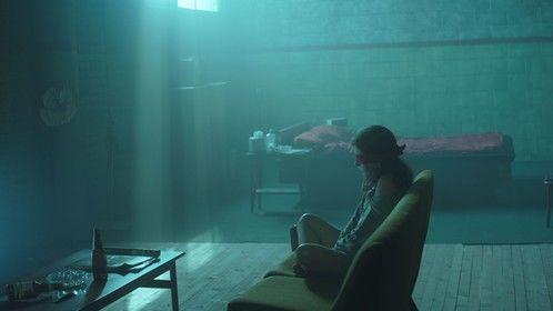 Katie Douglas as Lisa McVey in Believe Me, directed by Jim Donovan.