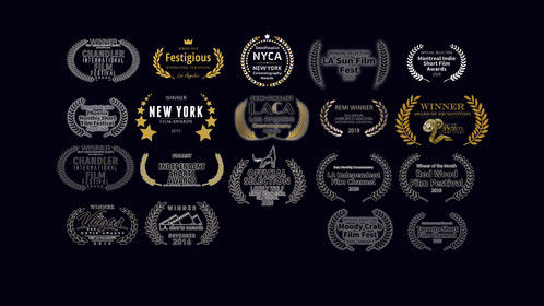 """2016-2020 HONORS AND ACHIEVEMENTS  """"CoronaVirus vs The Magic City"""" (documentary short)  Nominated for Best Documentary Short: Montreal Short Film Awards, April 2020  Semi Finalist Best Cinematography NY Cinematography Awards April 2020  Winner-Best Documentary Short: Toronto Short Film/TV Awards: May 2020  Winner-Best Documentary: LA Independent Short Film Channel: June 2020  Semi-Finalist Best Cinematography: LA Cinematography Awards, June 2020  Winner- Best Documentary: Special Mention: Venice Shorts Fest, Aug 2020  Best Documentary Nominee: Lonely Wolf Film Fest: London July 2020   Best Commercial Semi-Finalist: Top Shorts Awards, Dec 2019  """"Tioga Drone Camp for Kids""""   Noble Inc: 10 years documentary feature  FINALIST, BEST EDITOR Independent Shorts Awards, Jan 2020  FINALIST, BEST DOCUMENTARY Independent Shorts Awards, Jan 2020  Best Director Certificate of Achievement: Indie Shorts Awards, Jan/Feb 2020  Best Documentary Short: Certificate of Achievement: Indie Shorts Awards, Jan/Feb 2010  WINNER: Best Documentary, Red Wood Film Fest, Nov 2019  WINNER, Best Director: Honorable Mention, NY Film Awards, Oct 2019  Winner Best Documentary Film:  Cine Fern Film Fest Sept 2019 Best Cinematography Nominee LA Film Awards, Sept 2019   """"SPECTRUM FITNESS, MARTIAL ARTS"""" commercial  BEST COMMERCIAL: BEST SHORTS COMPTEITION, LA JUNE 2019  HONORABLE MENTION: CINEMATOGRAPHY: FESTIGIOUS FILM AWARDS  SPECIAL MENTION: ONE-REELERS AWARDS, JULY 2019  WINNER, BEST ADVERTISING FILM: VEGAS MOVIE AWARDS, SEPT 2019   """"Meet Mark"""" documentary short  Official Selection: Cinematography, Los Angeles Film Awards, Jan 2019   2018 Spades """"Bullet Proof' music video  Bronze Remi for Best Cinematography, 52nd World Fest Houston: March 2019  Official Selection: Independent Online Film Fest, Music Video Feb 2019  Best Music Video of the Month; Direct Short Online Film Fest: Music Video Jan 2019  Official Selection: Short CineFest; Music Video  Official Selection; Dances with Films, April 2018  Best """