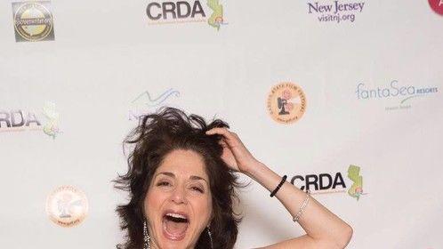 Jennifer Jiles on the Garden State Film Festival red carpet