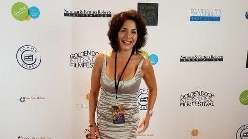 Jennifer Jiles on the Golden Door Film Festival red carpet