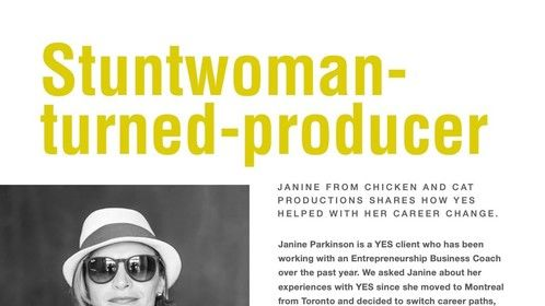 Janine Parkinson - Stuntwoman turned Producer, Interview