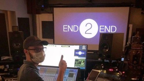 Mixing feature film Double Walker at Point of Blue Studios