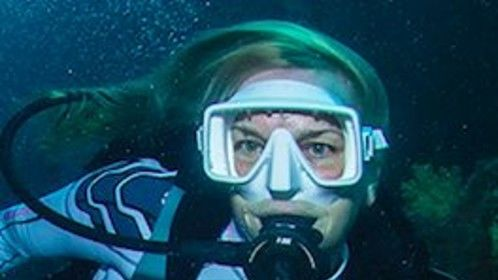 Passionate about scuba diving and exploring.