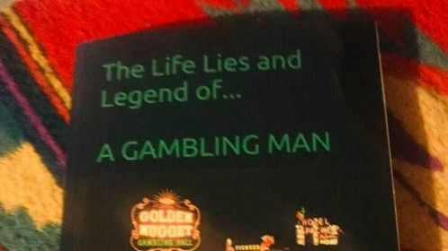 The Life Lies and Legend of a Gambling Man by Anita Waggoner