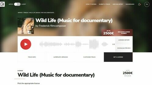 Music Track for documentaries