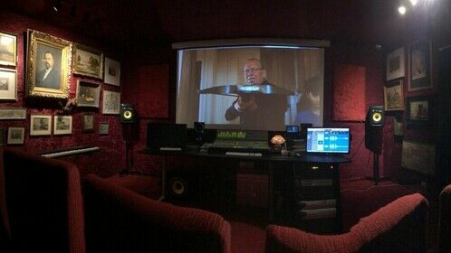 The mixing stage (studio 1)
