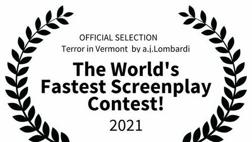 Honorable Mention for (Terror in Vermont screenplay)