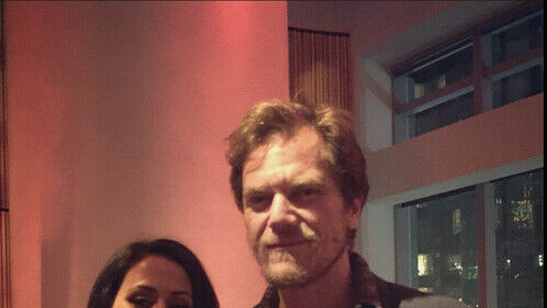 Michael Shannon and I.