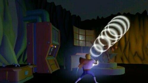 Super Jake attacks Crush (B)