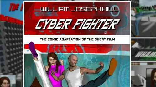 When you can't shoot your film --- do a Comic Adaptation!  While film production has been shut down, I took it upon myself to do a comic book adaptation of my short martial arts/sci-fi film script CYBER FIGHTER. Using a 3D animation program and comic creating software, I was able to self publish it, using the same production design that I intend to do for the movie.  It's based on my novel which was developed from the feature script. Both books (and audiobook) are available on Amazon: https://www.amazon.com/dp/B08ZL6X6W6  As content creators, we all need to find ways to keep putting our work out there. Books are a great way to do that!