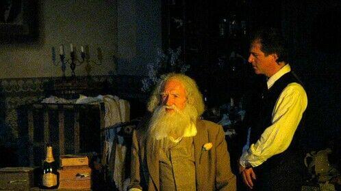 """Goodbye My Fancy"" by Judith Grace Bassat - John Graham as Walt Whitman and Michael Golding as Horace Traubel"