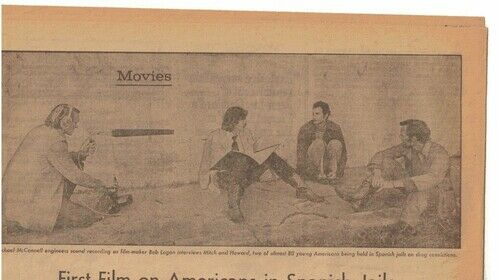 """news article about our film """"Holding"""""""