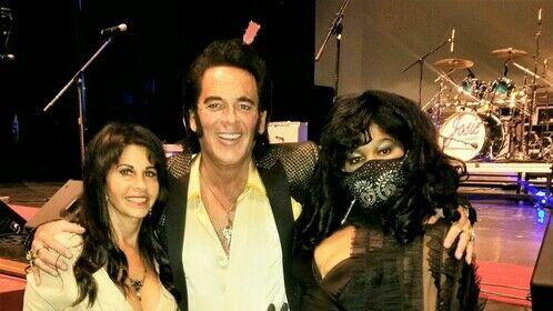 Josie Award winning Ronnie B. Elvis with his beautiful wife Darlene