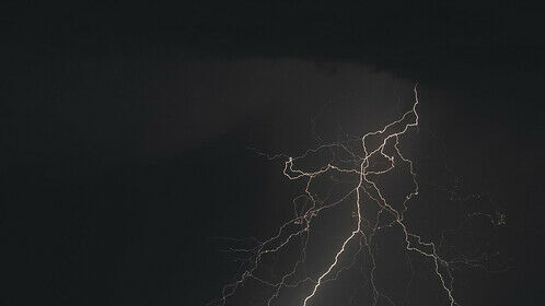Recent Storm over Los Angeles