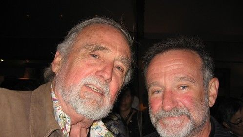 Me and Robin Williams at the Sonoma International Film Festival 2010