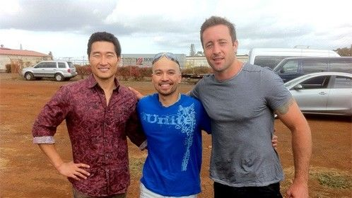 After wrapping Hawaii 5-0 Episode #3.13 opposite Daniel Dae Kim and Alex O' Loughlin