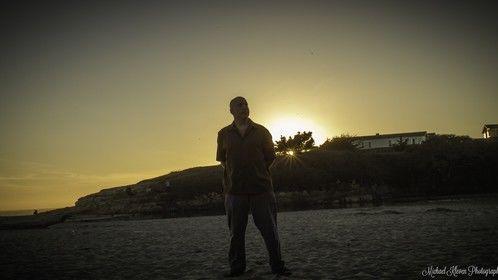 On vacation in Sante Cruz