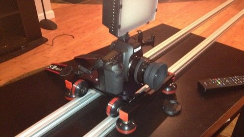 2 meter dolly system that I came up with.