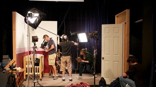 On the set of Kidnapping