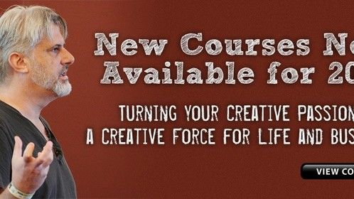 I'm offering two new course workshops in Upping Your Creativity and Business Skills in Art, as well as a Master Class in Animated Film.  www.ArtistMentor.org